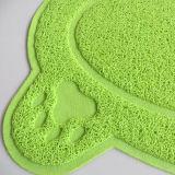 38*58cm PVC 애완 동물 고양이 배설용상자 매트 개 강아지 음식 접시 사발 Placemat