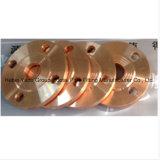 Flanges lisas do cobre do encaixe de tubulação