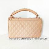 Satchel Bag (LY05087)熱い販売の女性PUのスタッドのハンドバッグの方法女性