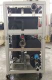 물에 의하여 냉각되는 일폭 압축기 냉각장치 기계