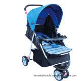 De wandelwagen van de Baby veilig met Raad Met fouten