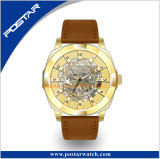 Gold Plating Luxury Limited Edition Montre-bracelet automatique de haute qualité