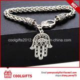 Mano de las señoras de la vendimia de la aleación de la pulsera de Fátima para el regalo de la promoción
