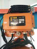 Strumento di sollevamento un argano elettrico da 1 tonnellata con Ce, iso certificato