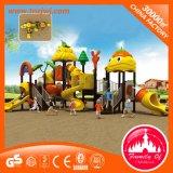 Áreas de jogo ao ar livre plásticas do jardim da casa do jogo dos miúdos