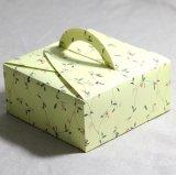 Rectángulo de torta de encargo/rectángulo de empaquetado de papel del regalo del alimento