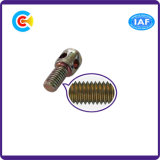 De cilindrische Hoofd DwarsSpeld/de Schroef van de Verbinding voor Industrie van de Macht met Gaten
