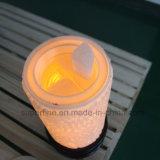 Gran romántica fragancia romántica LED difusor del viento en la superficie con cera