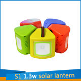 S1 солнечный светлый фонарик 1.3W для лагеря