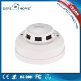Самое лучшее цена! Factory-Made белый франтовской детектор дымовой пожарной сигнализации для дома