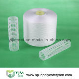 Fil à tricoter tourné par polyester sur l'emballage de papier de sac du cône 1.67kg pp