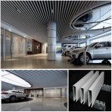 Teto de alumínio branco do defletor para a garagem do carro
