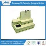 Conjunto de empaquetado del rectángulo de la cartulina del papel de la joyería del regalo de encargo de la visualización