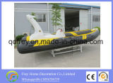 Stijve Boot 5.8m het Opblaasbare Jacht van de Visserij van de Glasvezel