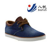 Zapatos ocasionales lavados de los hombres superiores del dril de algodón