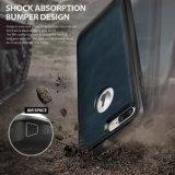 Het gekenmerkte Geval van de Telefoon van de Bescherming van de Schok van het Leer van de Tik TPU Geavanceerde Duurzame voor iPhone 7