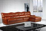 Sofà domestico moderno del cuoio del salone della mobilia (UL-NS232)