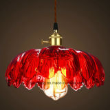 Illuminazione dell'interno che appende lampada Pendant con tonalità di vetro trasparente