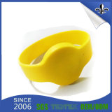 Pulsera de silicona de la muestra por encargo libre del diseño de impresión