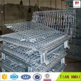 車輪が付いている金属の記憶のケージはTian Maiの工場を作った