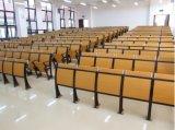 Silla del estudiante del asiento de la sala de clase en escuela de la universidad