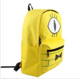 Saco de escola do portátil do ombro da trouxa da lona da cifra de Bill das quedas da gravidade do Anime