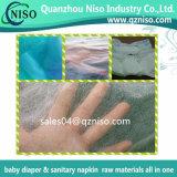 Preiswertes kundenspezifisches Es-nichtgewebtes Gewebe für Windeles-Heißluft 100% des Babys durch nichtgewebtes Gewebe-nicht gesponnenes Gewebe