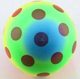 De kleurrijke Voetbal van de Druk van de Bal van het Stuk speelgoed van pvc Opblaasbare Volledige