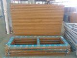 Porte de salle de bains de PVC de conque