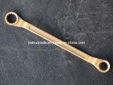 非手のツールをスパークさせる二重開放端レンチの黄銅