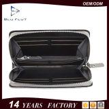 Fabrik-Preis-Form-echtes Leder-Mann-Reißverschluss-Mappen-Handtaschen