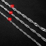 316L en acier inoxydable Accessoires de mode Collier Fermoir Chaîne