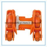Justierbare Vierrad-Rad-Blinkenrollen-Rochen Belüftung-LED