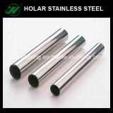Tubo ovale dell'acciaio inossidabile SS304, tubo di ovale dell'acciaio inossidabile