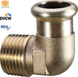 Copper Straight Coupling for Drinking Water System