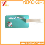 PVC高品質の荷物のこつの札のCustomedのロゴ(YB-HR-39)