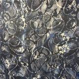 Pli en soie estampé par configuration Ggt de peau animale