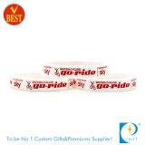 Le vendite superiori su ordinazione hanno stampato il braccialetto del Wristband del silicone