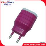 Stop 2 van de EU van de Lader USB de Draagbare Adapter van de Lader van de Reis USB