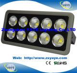 Prix usine chaud de vente de Yaye 18 USD88.5/PC de projecteur de l'ÉPI DEL de lumière d'inondation de 250W DEL avec 3 ans de garantie