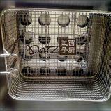 Doppelte kommerzielle elektrische tiefe Kartoffelchip-Bratpfanne
