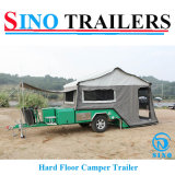 Hard Floor Camper Trailer Electric Winch Off-Road Caravan Camping