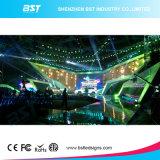 Écran de location noir mince superbe d'Afficheur LED de l'aluminium P3.91 SMD2121 DEL de vente chaude pour l'exposition de concert