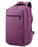 Sac en gros de sac à dos d'ordinateur portatif de simplicité, sac de sac à dos d'épaule d'ordinateur pour Hobe, école, Ol