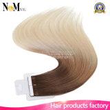 Da fita diferente diferente das cores do tamanho do preço de grosso da fábrica extensão brasileira humana do cabelo
