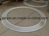 Traliewerk van de Staaf van het aluminium het Speciale Lineaire