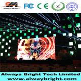 Visualizzazione di LED dell'interno di alluminio fusa sotto pressione alta risoluzione dell'affitto P3.91