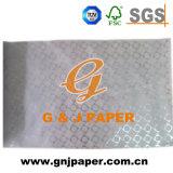 Papel de seda estampado de colores utilizados para el presente Embalaje