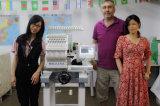 Máquina computarizada cabeça Ho1501c do bordado do tampão do t-shirt da fábrica 1 do bordado de China