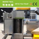 Frasco plástico Waste dos PP do PE do HDPE que recicl a máquina